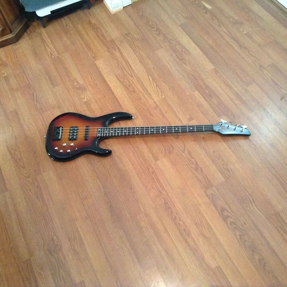 carvin bass guitar 24 frets lb70 with hard case ebay