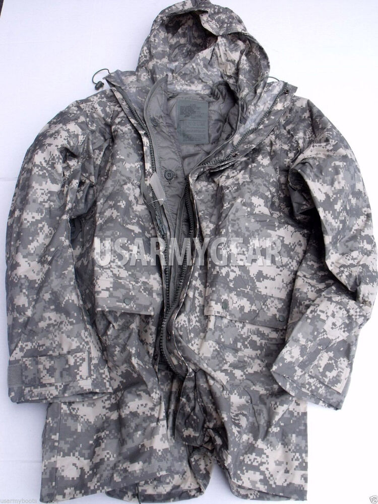 New ORC US Army Improved ACU Rainsuit Wet Weather Rain ...