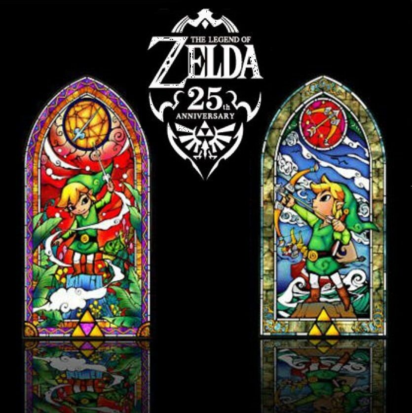 Legend Of Zelda Wind Waker 42 Quot Stained Glass Wall Decal