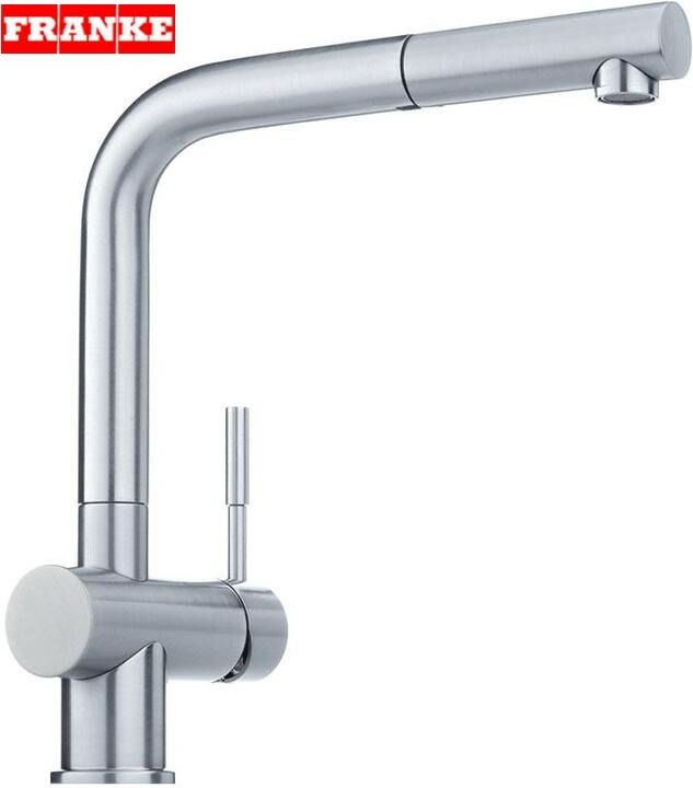 franke kitchen sink taps franke atlas stainlees steel pull out spray mixer kitchen 3527