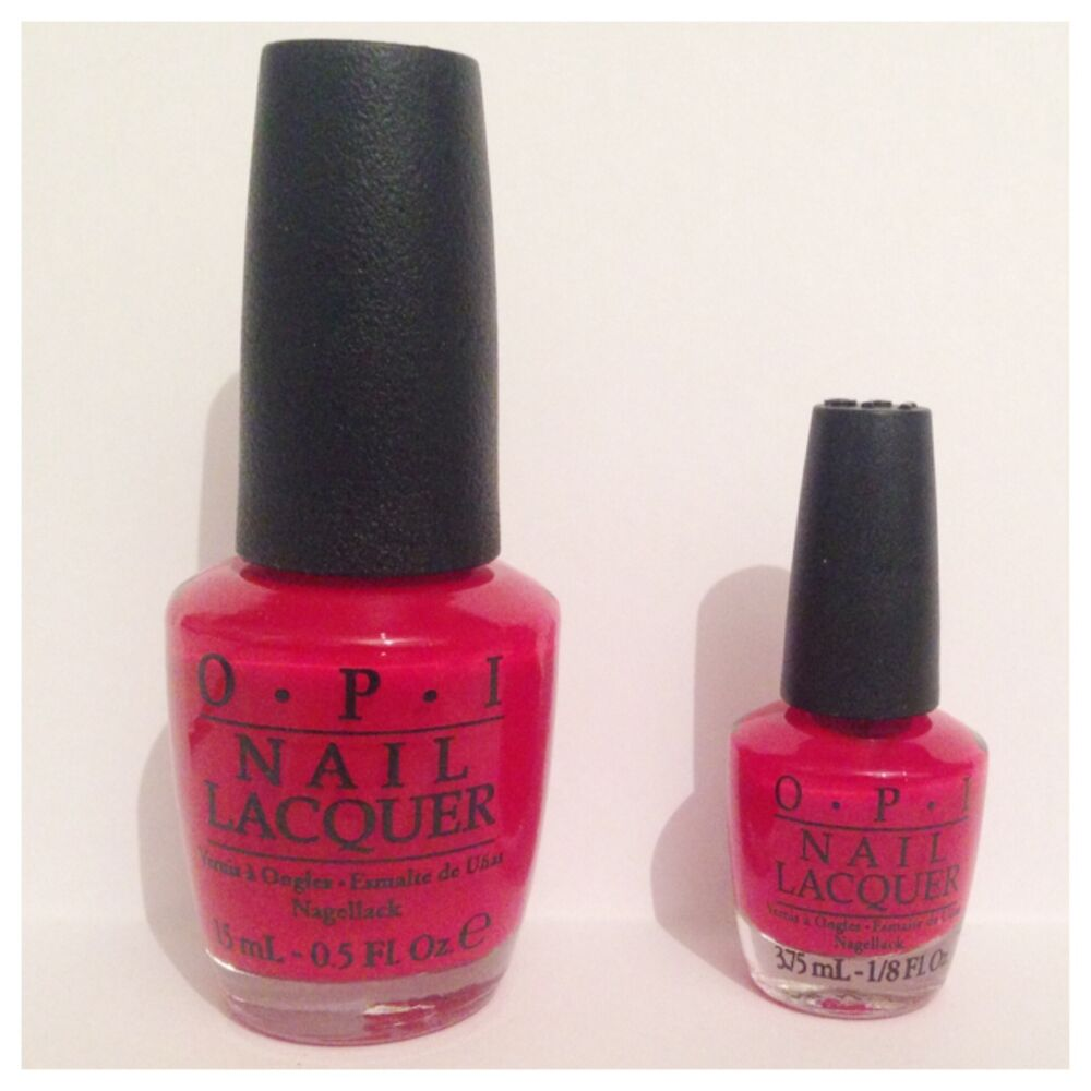 OPI Big Apple Red Nail Varnish 15ml or 3.75ml ***PICK YOUR SIZE ...