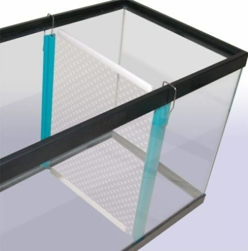 Tank divider 29 55 gallon tdsubx penn plax ebay for Split fish tank