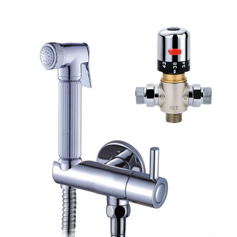 Thermostatic Douche Mixer Valve Bidet Sprayer Shattaf