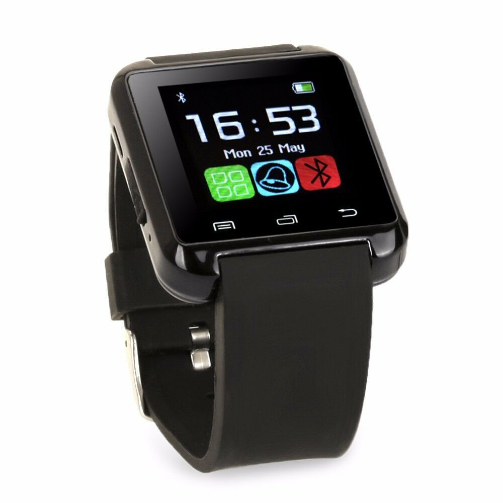 Bluetooth Smart Wrist Watch Phone Mate For IOS Android ...  Iphone Watch Phone