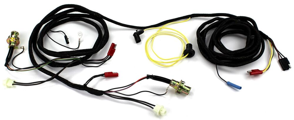 mustang tail light wiring harness w sockets w o safety. Black Bedroom Furniture Sets. Home Design Ideas