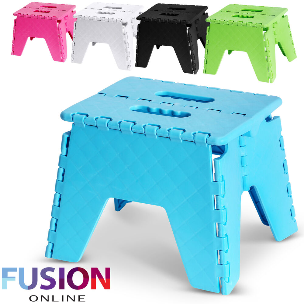 Foldable Folding Sturdy Step Stool Home Kitchen Garage