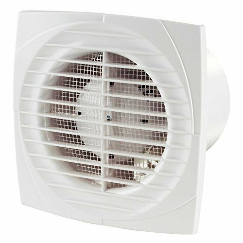Vents 100mm 4¸ dia Bathroom Extractor Fan Wall Ceiling ...