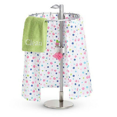 american myag fresh clean shower set for 18 quot dolls