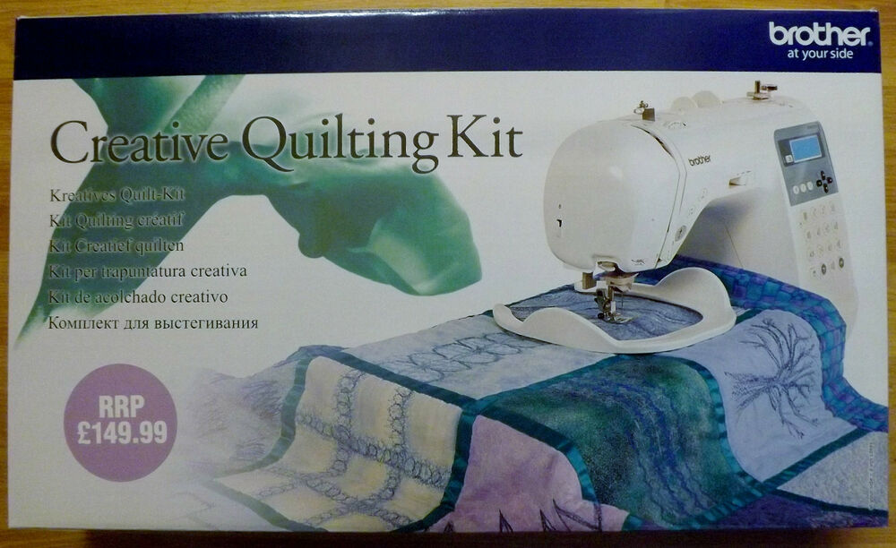 brother sewing machine creative quilting kit innov is 55. Black Bedroom Furniture Sets. Home Design Ideas