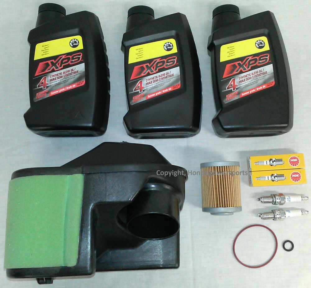 Can Am 1000 >> Can-Am Renegade 800 Full Oil Change Service Kit 2009 2010 2011 | eBay