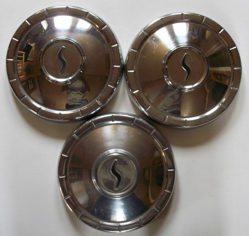Ford Tractor Hubcaps : S studebaker inch dog dish poverty hub caps wheel