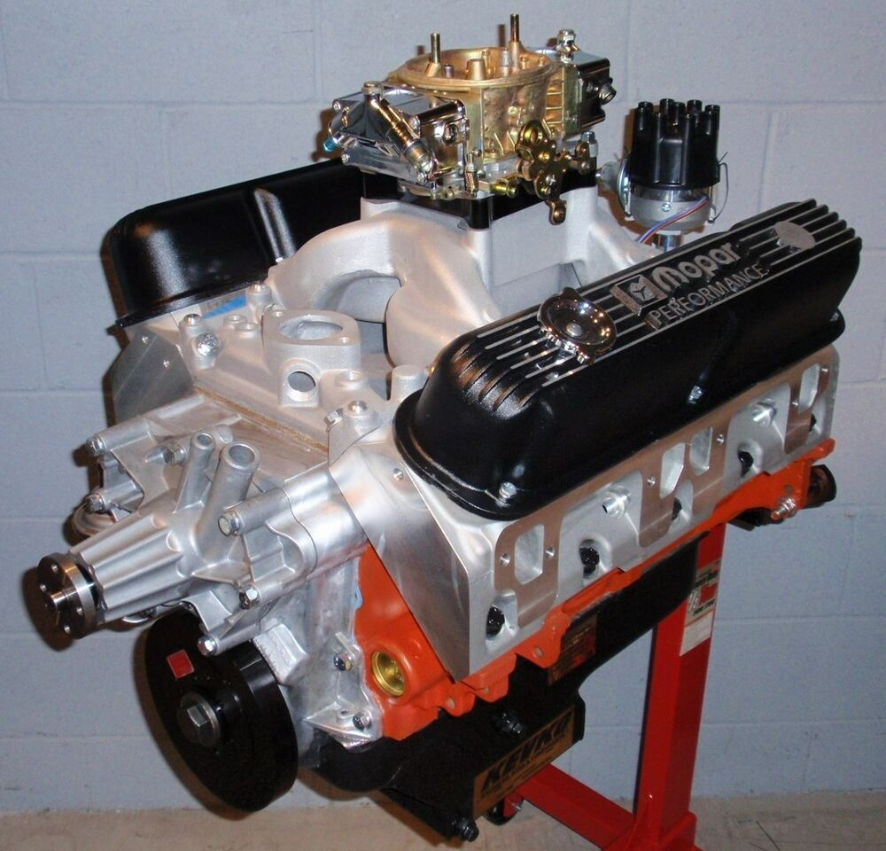 Mopar Dodge 408 560 Horse Complete Crate Engine Pro Built