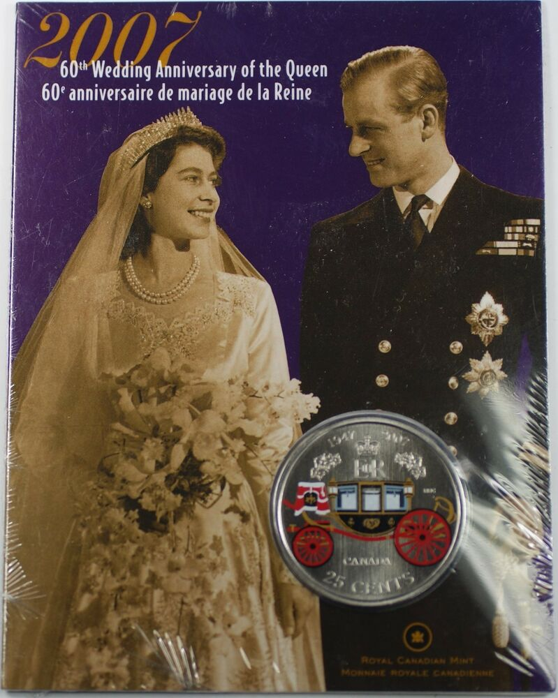Th wedding anniversary of the queen canadian