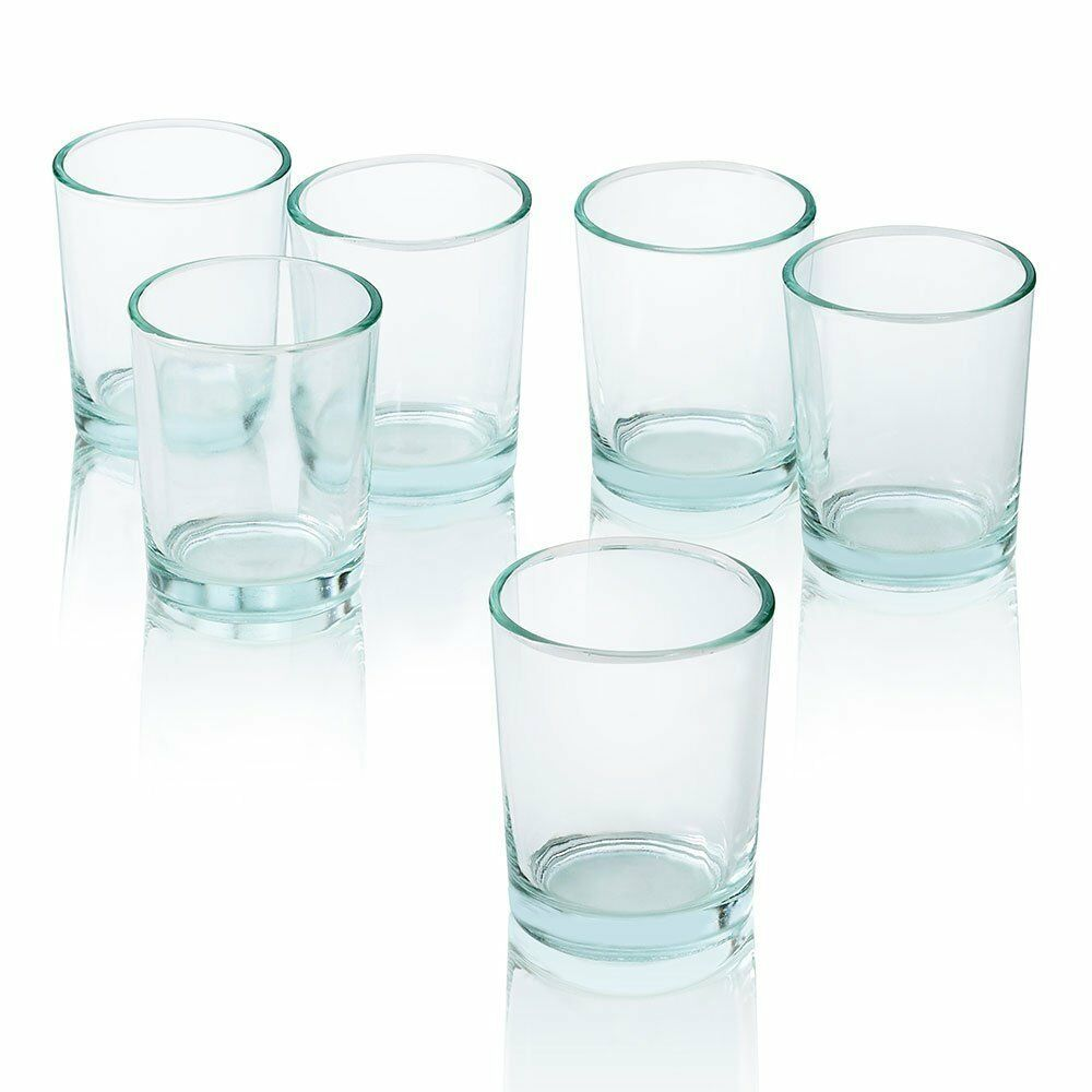 Clear Glass Round Votive Candle Holders Set Of 72 Ebay