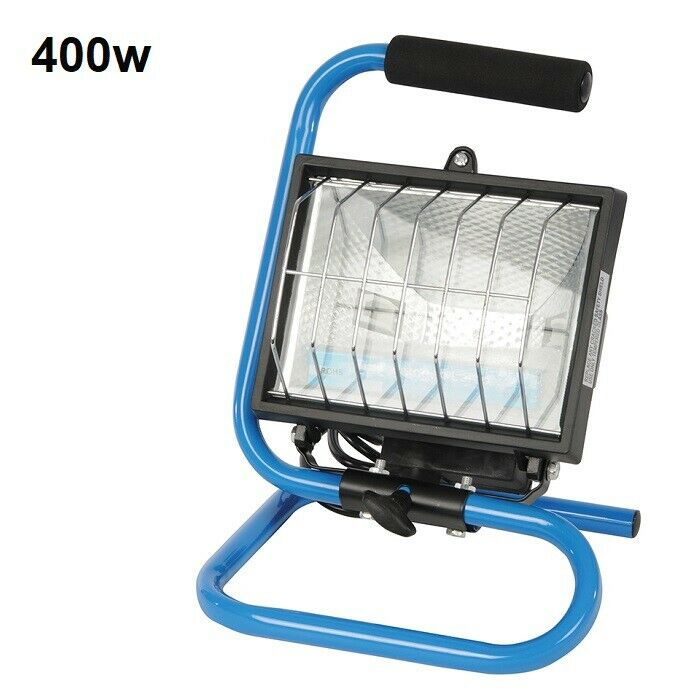 Craftsman 500 Watt Halogen Worklight: Silverline Halogen 500 Watt Electric Work Light 240 Volt