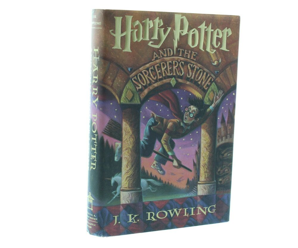 an analysis of harry potter and the sorcerers stone by jk rowling Judging by this first volume, the harry potter books are a fine addition to english children's fantasy literature harry potter, orphaned when his parents are killed by the evil wizard voldemort, is taken in by his aunt and uncle, who are muggles — ordinary, non-magical people harry is rather out of place there, but things.