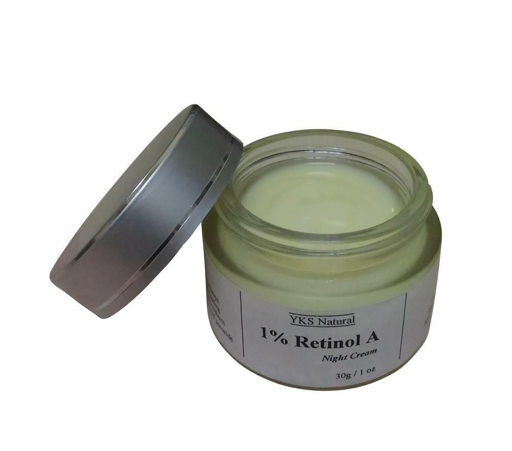 1 pure retinol vitamin a night face cream best otc facial serum retin retinoid ebay. Black Bedroom Furniture Sets. Home Design Ideas