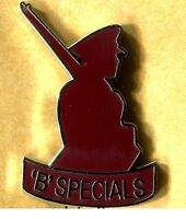 new b specials cut out lapel badge ulster ruc usc udr morthern ireland b special