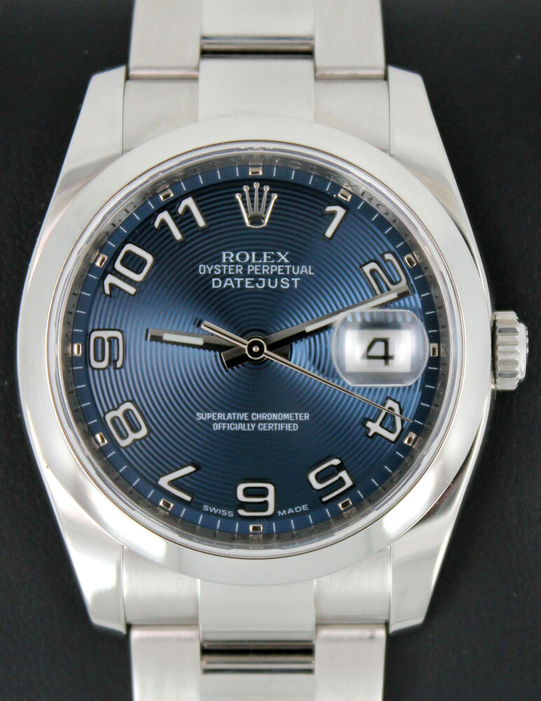 Rolex Oyster Perpetual Datejust 116200 Stainless