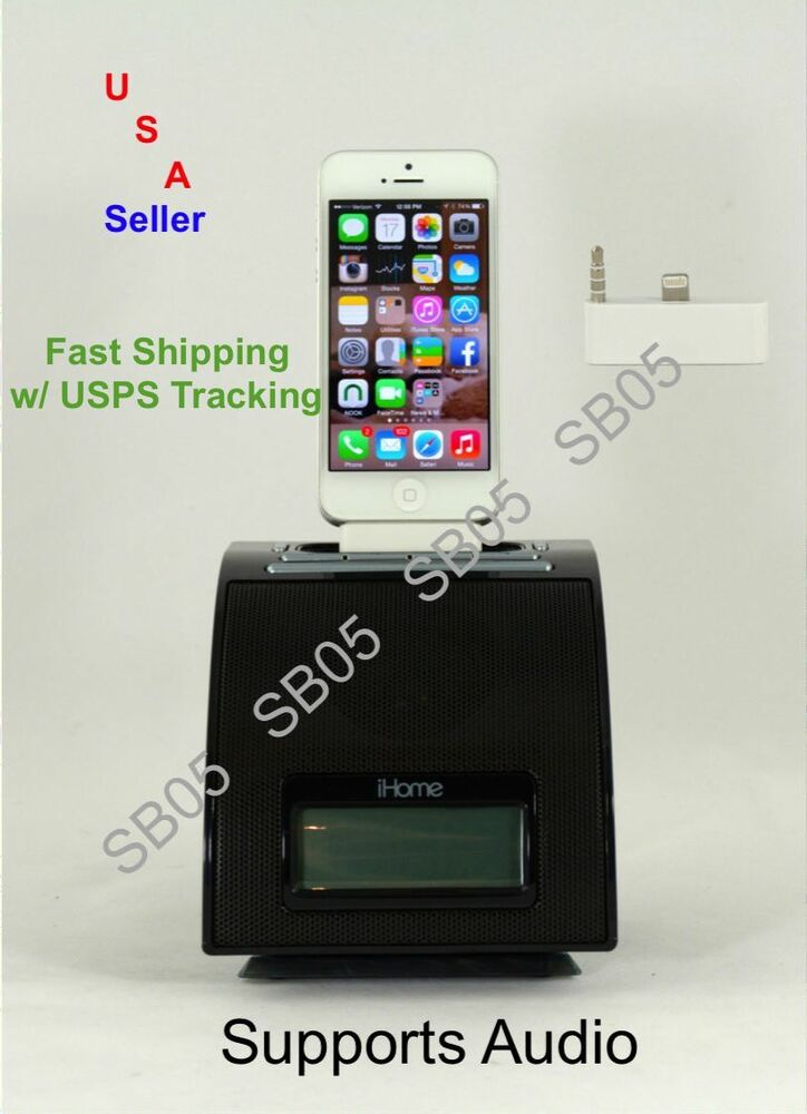iphone 4 no sound 30 pin to 8 pin dock audio adapter converter for iphone 5 1567