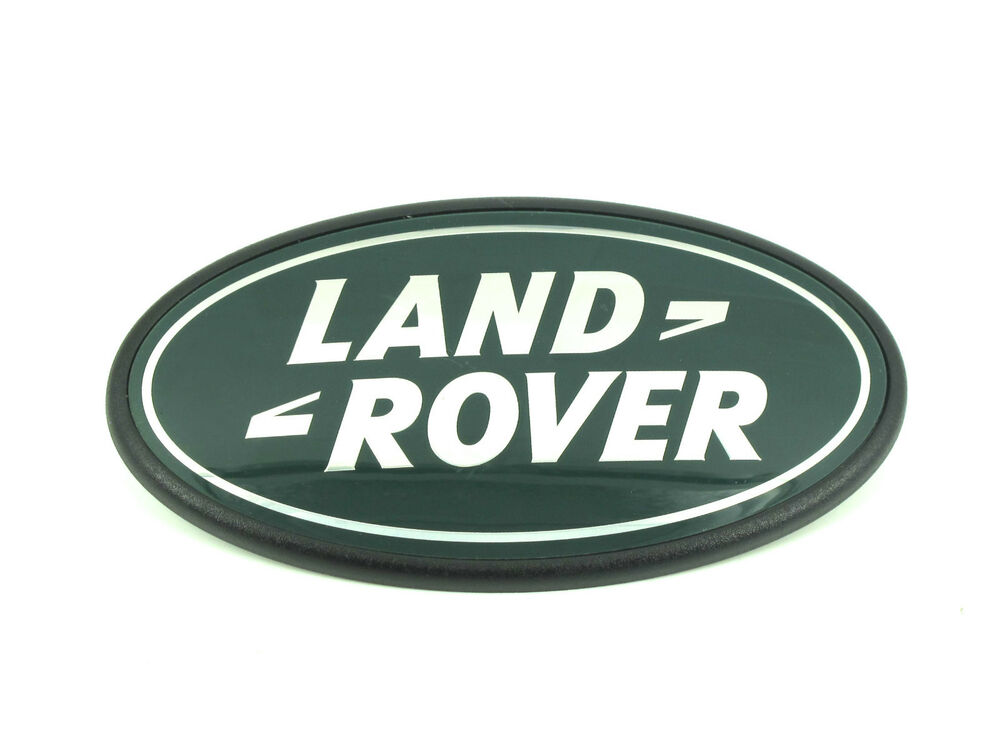 genuine new land rover rear boot badge for freelander 2. Black Bedroom Furniture Sets. Home Design Ideas