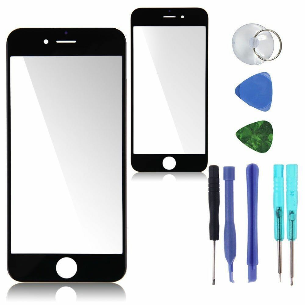 Iphone 6 or 6 plus replacement screen front glass replacement repair kit ebay - Kit reparation iphone 6 ...