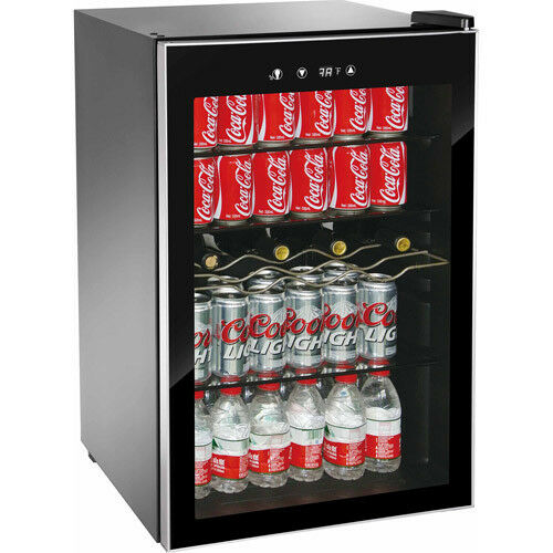 New 150 Can Beverage Refrigerator Mini Wine Fridge Soda