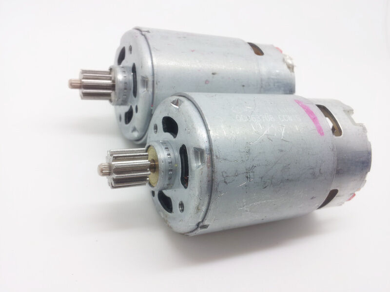 1pcs used good mabuchi high speed rs 550 vc 8520 dc motor for High speed dc motors