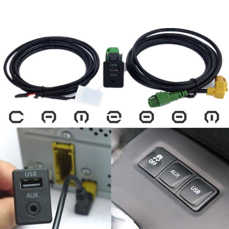 For Volkswagen Magotan Touran Polo AuxIn Adapter USB