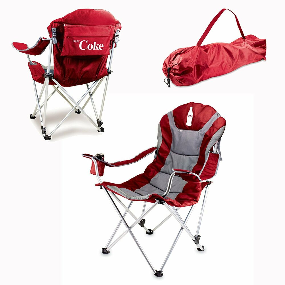 Coca cola chair folding sports camping portable outdoor for Best folding chairs outdoor