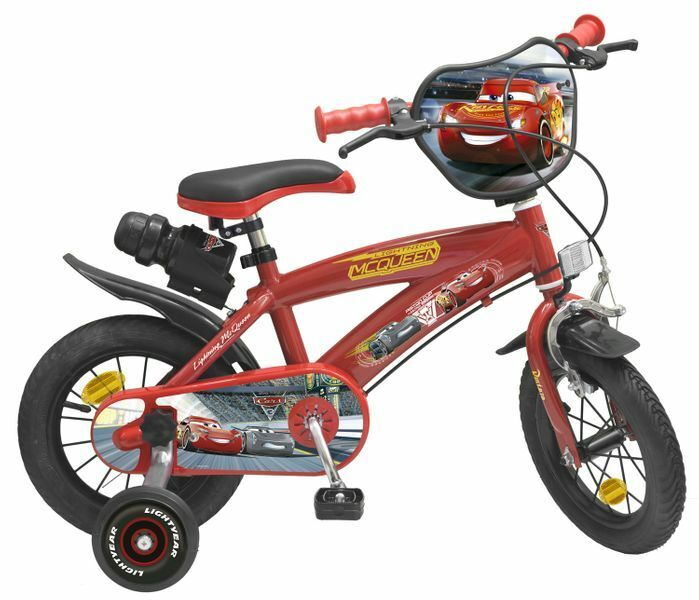 12 12 zoll fahrrad kinderfahrrad disney cars mcqueen. Black Bedroom Furniture Sets. Home Design Ideas