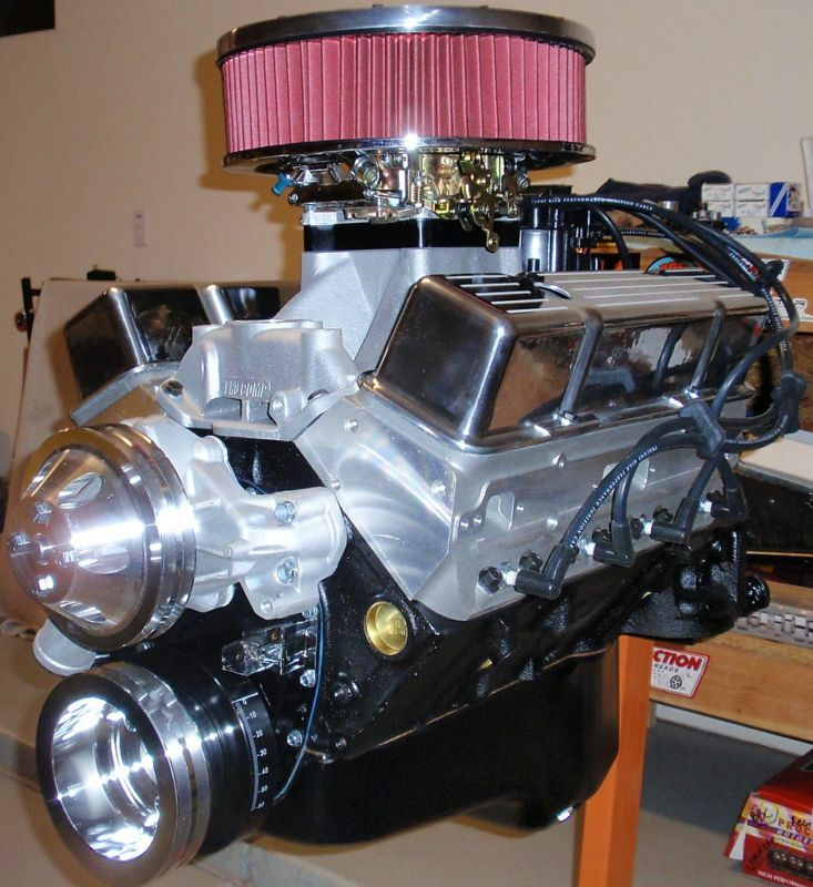 Chevy 350 440 horse complete crate engine pro built for 305 chevy motor for sale