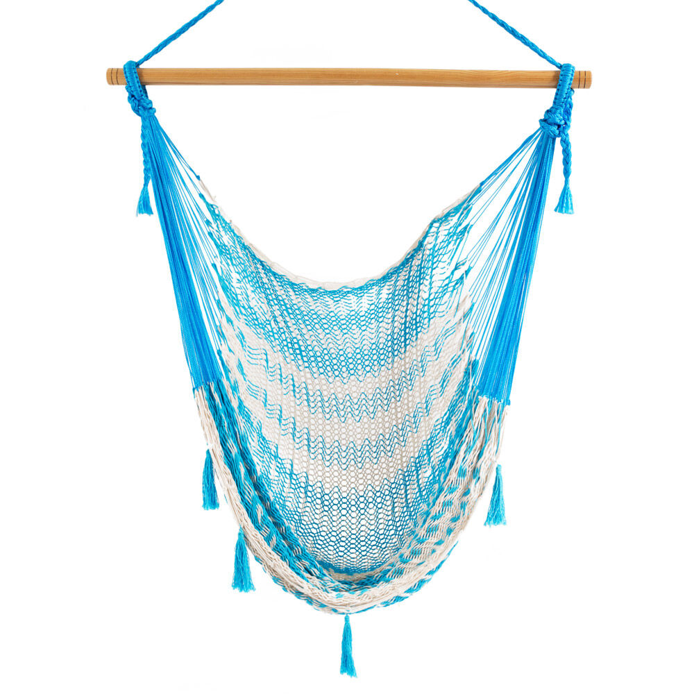 New Mexican Handmade Mayan Swing Hammock Chair Outdoor