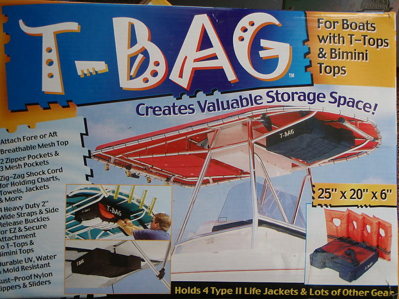 T Bag T Top Storage Pack Holds 4 Type Ii Pfds 253 Pfdt4