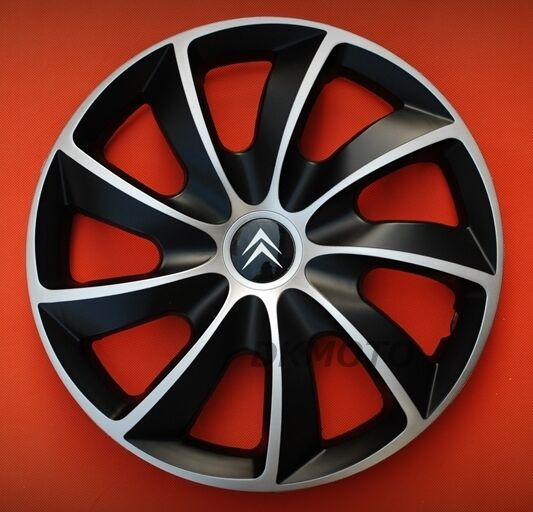 14 citroen c1 c2 saxo berlingo wheel trims covers hub caps set of 4 x14 ebay. Black Bedroom Furniture Sets. Home Design Ideas