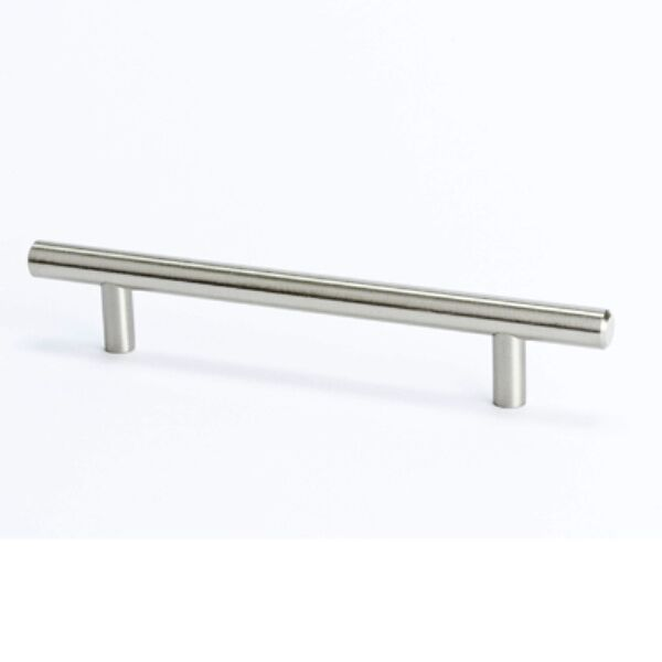 brushed nickel kitchen cabinet handles berenson tempo series t bar pulls brushed nickel kitchen 12578