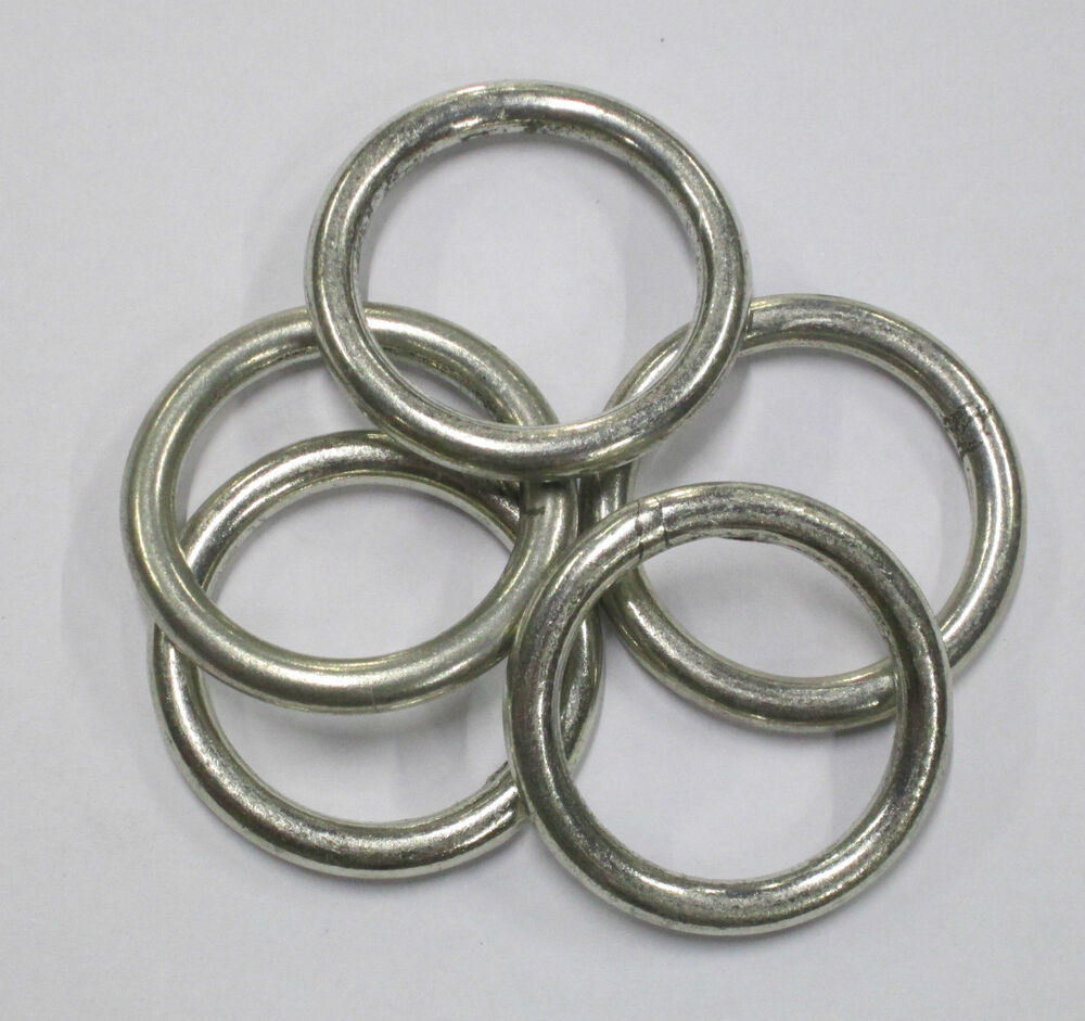 Welded steel rings ebay