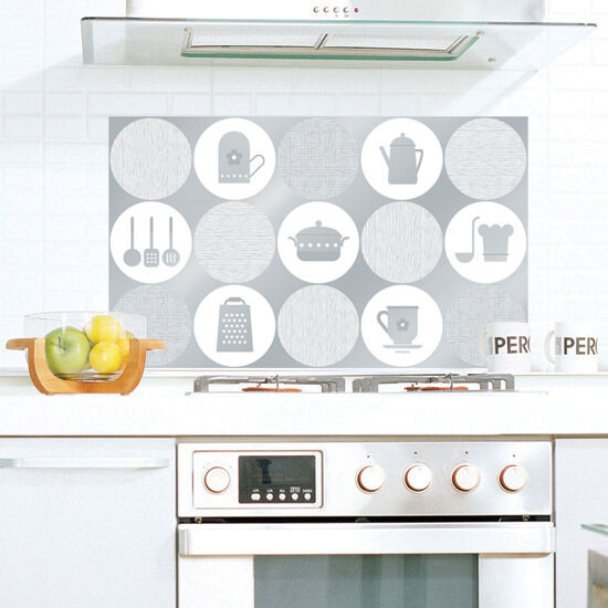 Aluminum foil self adhesive washable wallpaper for kitchen backsplash home decor ebay - Washable wallpaper for kitchen backsplash ...