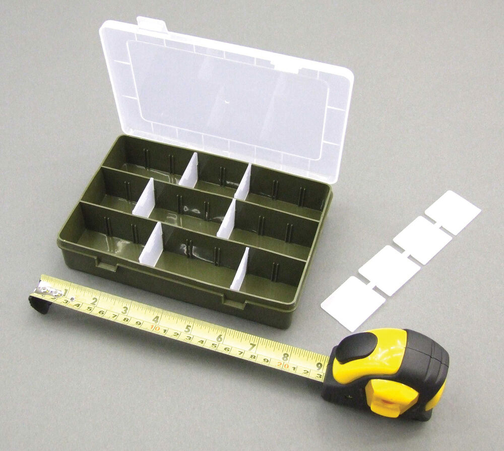 Mdi medium craft adjustable clear lid storage compartment for Craft storage boxes with lids