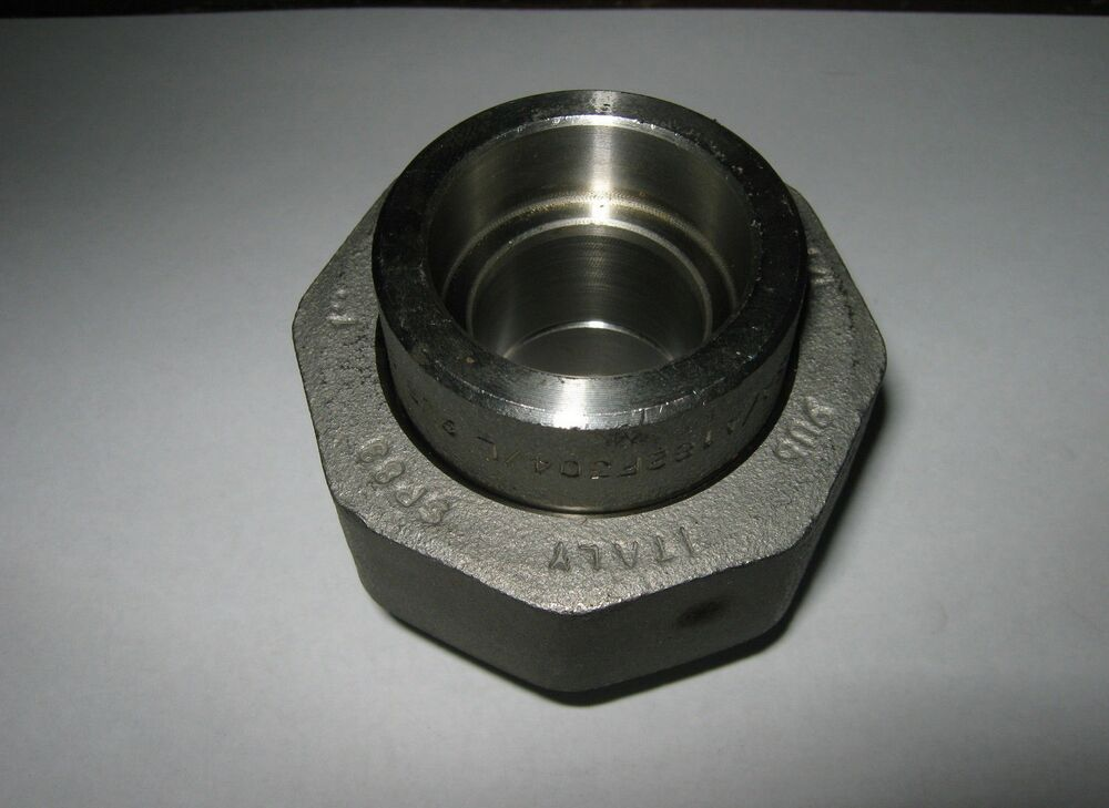 Pc quot stainless steel pipe union socket weld sa