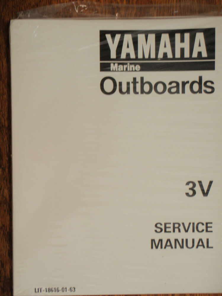 Yamaha outboard service manual 3hp 3v lit 18616 01 63 for Yamaha outboard service