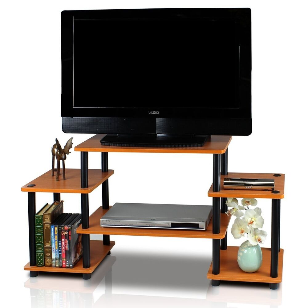 Tv stand center entertainment media furniture storage for Tv console with storage