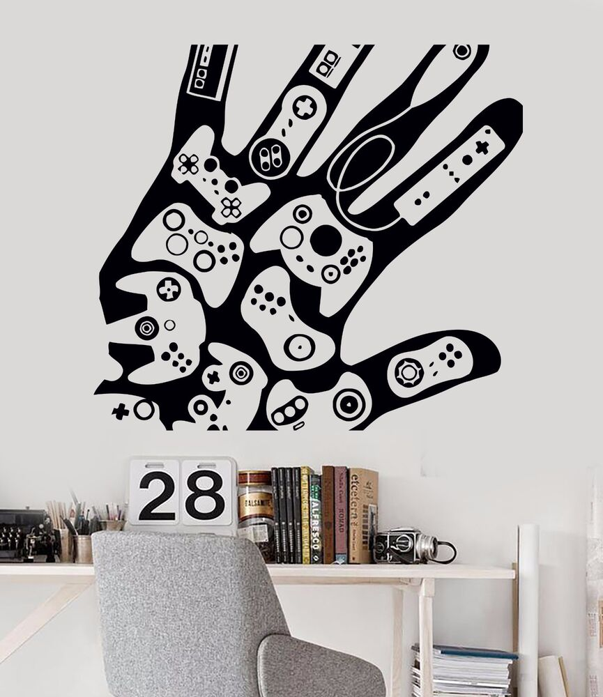 Wall Stickers Vinyl Decal Video Games Gamer Xbox