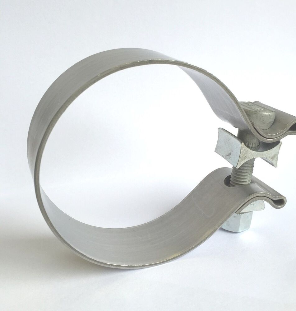"""Turbo Exhaust Ring: 3"""" 76mm UNIVERSAL HEAVY DUTY TURBO EXHAUST PIPE SLEEVE"""