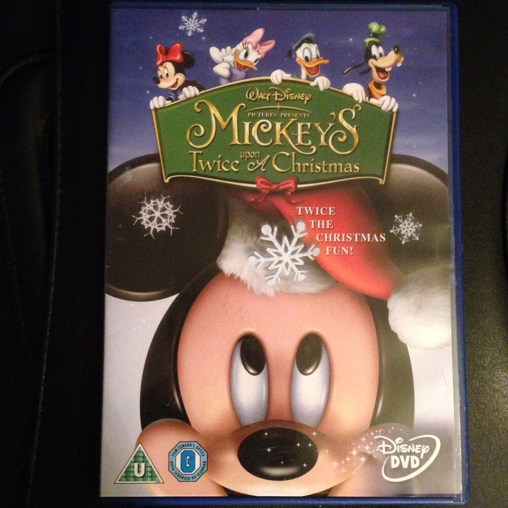 Mickey's Twice Upon A Christmas - DVD, Walt Disney, Animation ...
