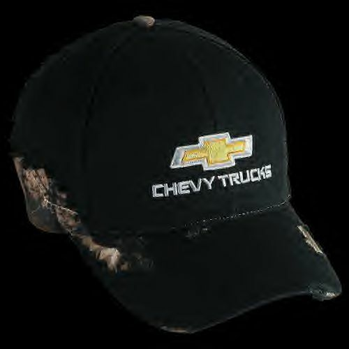 fd878461231 Details about Chevrolet Bowtie Chevy Truck Frayed camo realtree Pickup Cap  Baseball hat