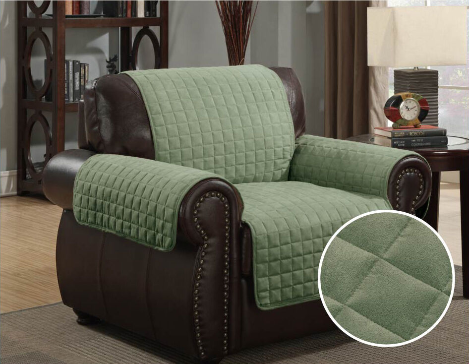 Kashi home micro suede furniture pet protector couch sofa for Suede furniture