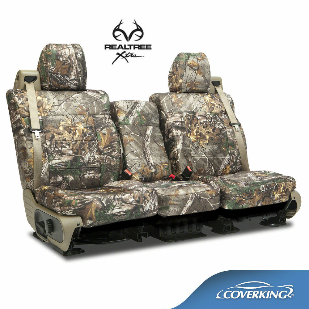 Coverking Neosupreme Realtree Xtra Camo Front Seat Covers