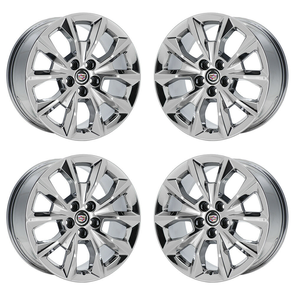 "2014 Cadillac Cts Accessories >> 19"" CADILLAC CTS PVD CHROME WHEELS RIMS 2014 2015 2016 FACTORY OEM 4751 EXCHANGE 