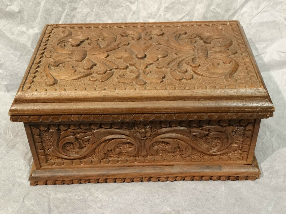 Edwardian victorian ornate floral flowered wood carved for Victorian woodwork